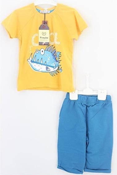 Sema Bebe Pengim Kaprili Takım 1 Erkek Çocuk Giyim Lacivert